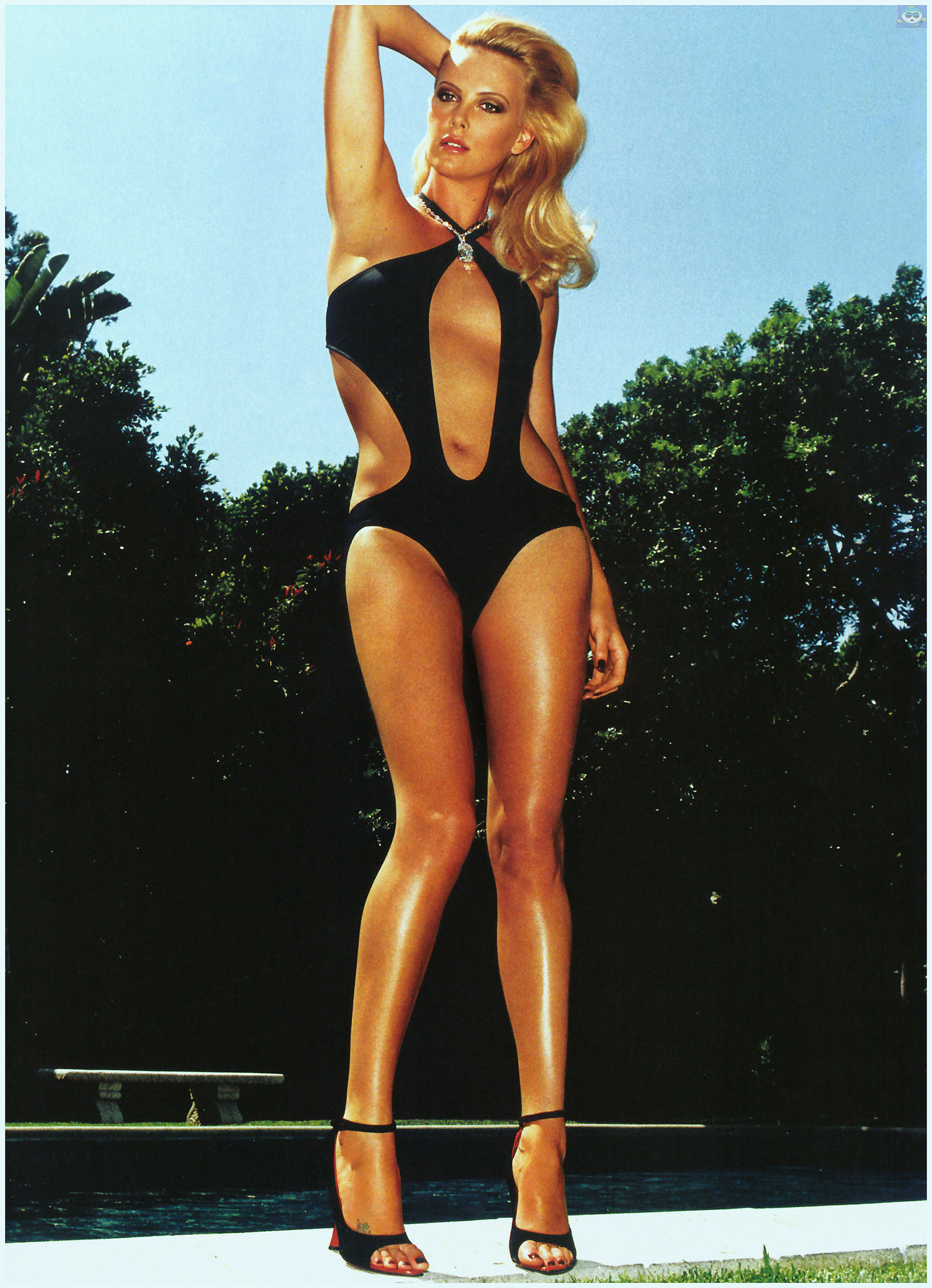 from Maxim charlize theron nude body