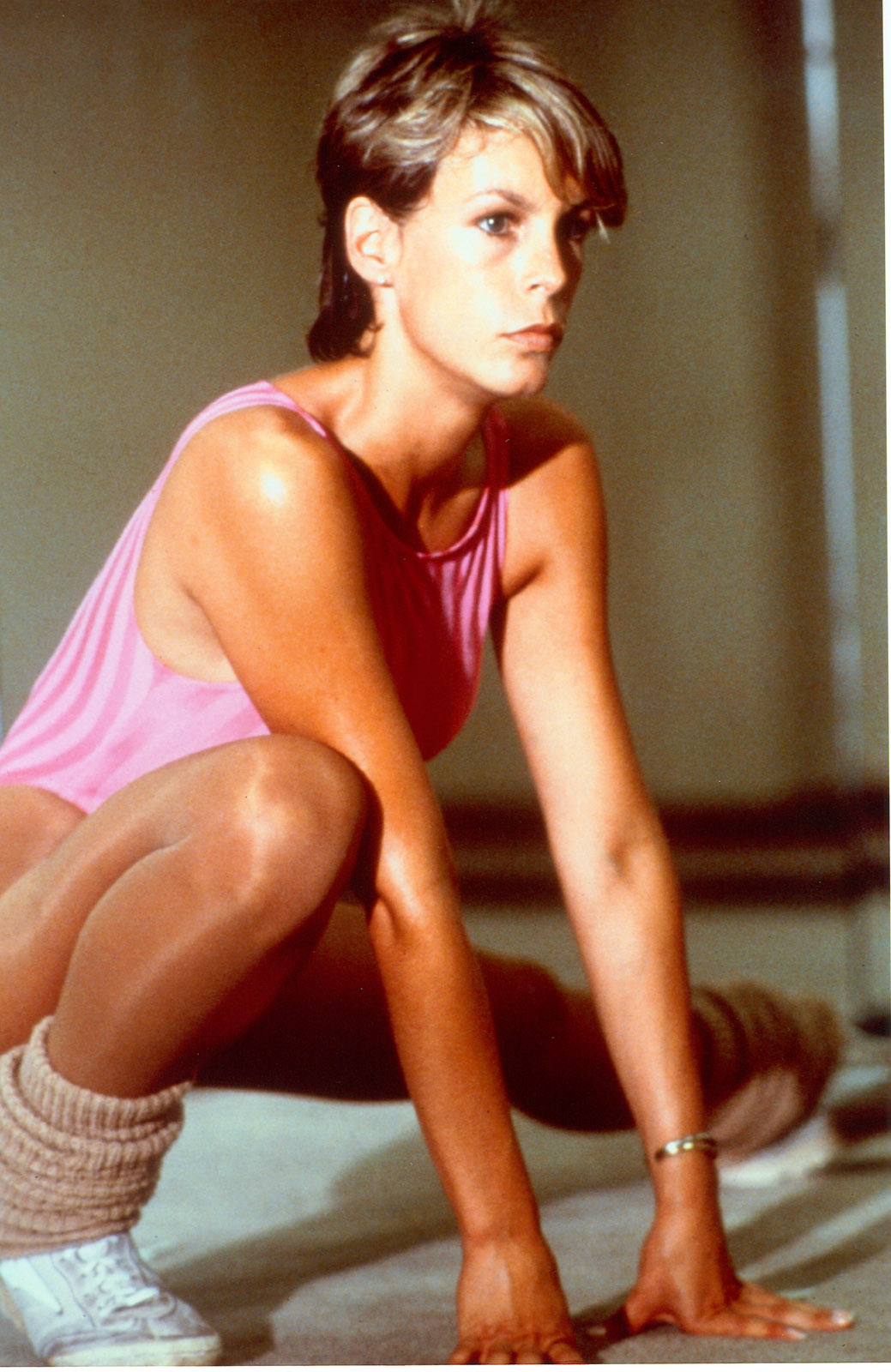 Jamie Lee Curtis in fitness outfit | 80s - aerobics ...